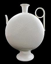 Song dynasty Ding ware Moon vase