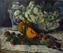 Slovakian artist around 1910: Still life