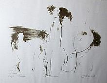 Andrej Chebikin (1946 -): Three nudes