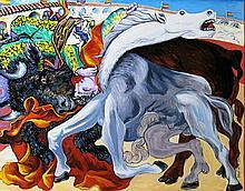 Judit Bényei  (Hungarian-): Bullfight