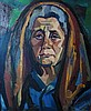 János Józsa  (Hungarian, 1936 - ): My mother