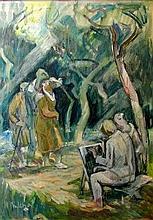 Ferenc B. Mikli (Hungarian,1921 - 2013): Painter school