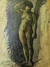 László Holló (Hungarian,1887 - 1976): Nude woman