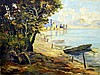 Hungarian, European Landscapes, City Scenes, People Fine Art