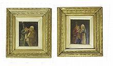 PROVINCIAL SCHOOL (XX). Interior scenes with men a