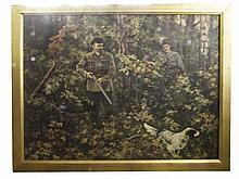 RUSSIAN SCHOOL (XX) A study of Lenin shooting in a