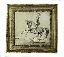A 19TH CENTURY ENGRAVING OF THE HONOURABLE KING~S