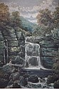 EDWARD PRIESTLEY (XIX - XX), 'Rydall Falls,, Edward  Priestley, Click for value
