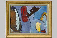 COLLIGNON GEORGES (1923 - 2002) olieverfschilderij op doek :