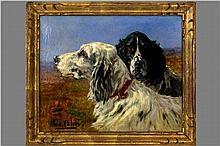 CALVÈS MARIE DIDIÈRE (1883 - 1957) olieverfschilderij op doek :
