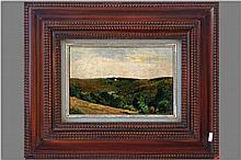 FREDERIC (BARON) LEON (1856 - 1940) olieverfschilderij op doek (gemaroufleerd op paneel) :
