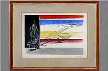 COX JAN (1919 - 1980) kleurlitho :