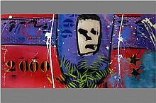 GREGER HAGEN ESPEN (1964 - 2008) acrylschilderij