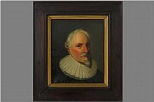 NEUFCHATEL NICOLAS (1527 - 1590) - TOEGESCHREVEN / OMGEVING VAN olieverfschilderij op doek : 'Manspo