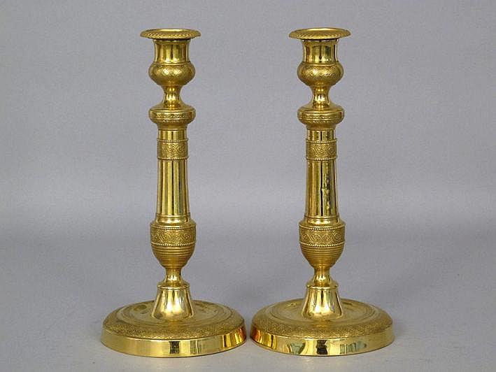 Goed paar (§) antieke neoclassicistische