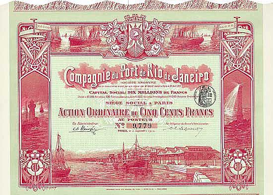 Compagnie du Port de Rio de Janeiro S.A.