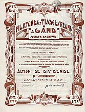Filatures et Tissages Reunis à Gand S.A.