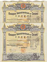 China-Lot: Banque Industrielle de Chine S.A. (8 Stück)