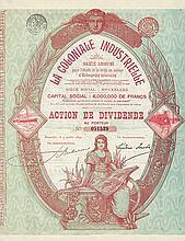 La Coloniale Industrielle S.A.