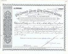 Cunard Steam-Ship Co. Ltd.