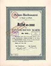 Actien-Bierbrauerei in Essen a. d. Ruhr