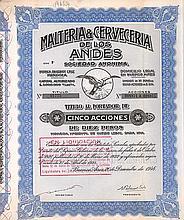 Malteria & Cerveceria de los Andes S.A.