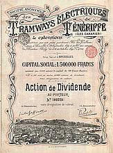 S.A. des Tramways Électriques de Ténériffe (Iles Canaries)