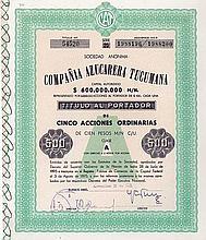 Compania Azucarera Tucumana S.A.