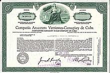Compania Azucarera Vertientes-Camaguey de Cuba (Vertientes-Camaguey Sugar Co. of Cuba)