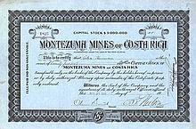 Montezuma Mines of Costa Rica
