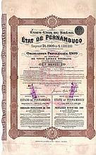 État de Pernambuco Emprunt 5 % 1909