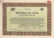 Wells Fargo & Co of Cuba