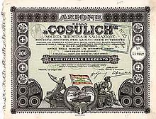 """""""COSULICH"""" Soc. Triestina di Navigazione"""