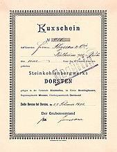 Steinkohlenbergwerk Dorsten (OU Julius Thyssen)
