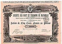 Soc. des Port et Terrains de Matanzas (Ile de Cuba) S.A.