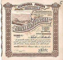 Compania Minera S.A. Nueva Concordia