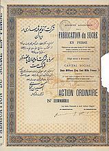 S.A. pour la Fabrication du Sucre en Perse