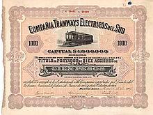 Cia. Tramways Electricos del Sud