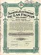 Soc. d'Électricité de Las Palmas (Iles Canaries) S.A.