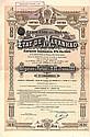 Etat de Maranhao Emprunt Extérieur 5 % Or 1910