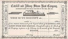 Catskill and Albany Steam Boat Co.