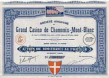 S.A. du Grand Casino de Chamonix-Mont-Blanc