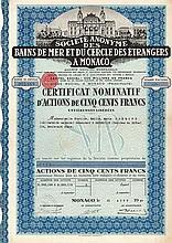 S.A. des Bains de Mer & du Cercle des Étrangers a Monaco