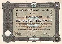 AG für Federstahl-Industrie vormals A. Hirsch & Co.