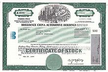 Brilliance China Automotive Holdings
