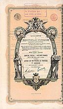 Société du Nouveau Cirque S.A.
