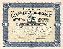 Las Selvas del Chaco Ltda. S.A.