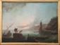 Ecole française du XIXème siècle Paysage imaginaire. Toile. 100 x 136 cm.