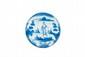 Savone. Petit plateau sur talon en faïence. Décor en bleu et en plein d'un personnage de profil sur fond de paysage. Marqué « S. N. » Fin XVIIème début XVIIIe siècle. D. : 23 cm.