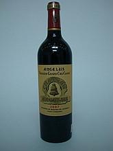 1 bouteille   CHÂTEAU ANGELUS 2007 GCC1A St Emilion